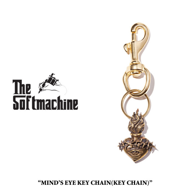 SOFTMACHINE(ソフトマシーン) MIND'S EYE KEY CHAIN(KEY CHAIN) 【2019SPRING&SUMMER 先行予約】【キャンセル不可】 【SOFTMACHIN