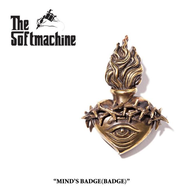 SOFTMACHINE(ソフトマシーン) MIND'S EYE BADGE(BADGE) 【先行予約】【キャンセル不可】 【SOFTMACHINE(ソフトマシーン) バッジ】