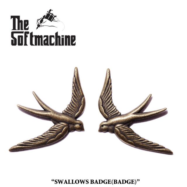 SOFTMACHINE(ソフトマシーン) SWALLOWS BADGE(BADGE SET) 【先行予約】【キャンセル不可】 【SOFTMACHINE(ソフトマシーン) バッジ