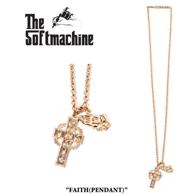 SOFTMACHINE(ソフトマシーン) FAITH(PENDANT) 【先行予約】【キャンセル不可】 【SOFTMACHINE(ソフトマシーン) ネックレス】
