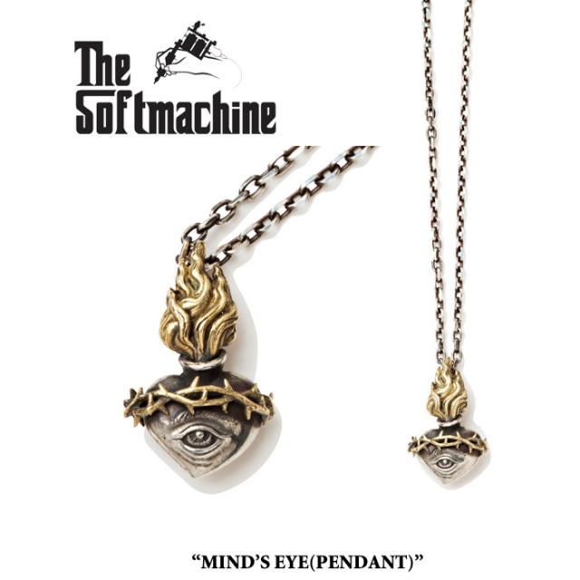 SOFTMACHINE(ソフトマシーン) MIND'S EYE(PENDANT) 【先行予約】【キャンセル不可】 【SOFTMACHINE(ソフトマシーン) ネックレス】