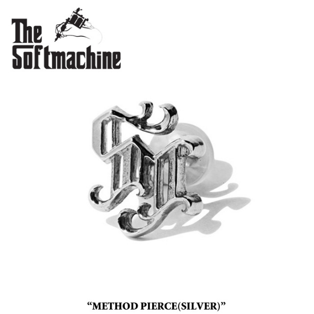 SOFTMACHINE(ソフトマシーン) METHOD PIERCE(PIERCE)(SILVER) 【2019SPRING&SUMMER先行予約】【キャンセル不可】 【SOFTMACHINE(