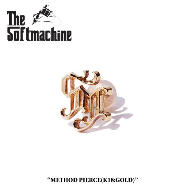 SOFTMACHINE(ソフトマシーン) METHOD PIERCE(PIERCE)(K18) 【先行予約】【キャンセル不可】 【SOFTMACHINE(ソフトマシーン) ピア