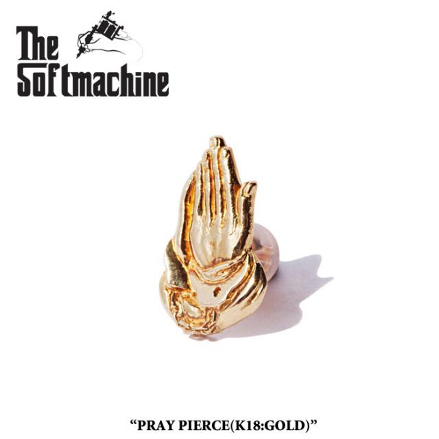 SOFTMACHINE(ソフトマシーン) PRAY PIERCE(PIERCE)(K18) 【先行予約】【キャンセル不可】 【SOFTMACHINE(ソフトマシーン) ピアス