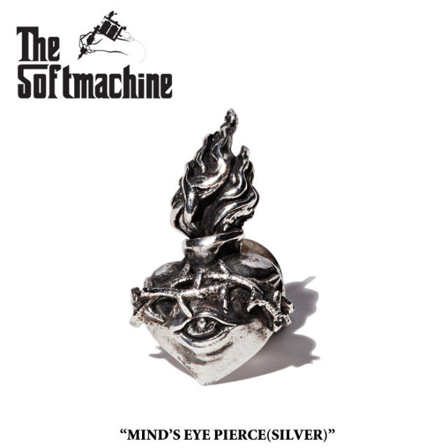 SOFTMACHINE(ソフトマシーン) MIND'S EYE PIERCE(925SV) 【先行予約】【キャンセル不可】 【SOFTMACHINE(ソフトマシーン) ピアス