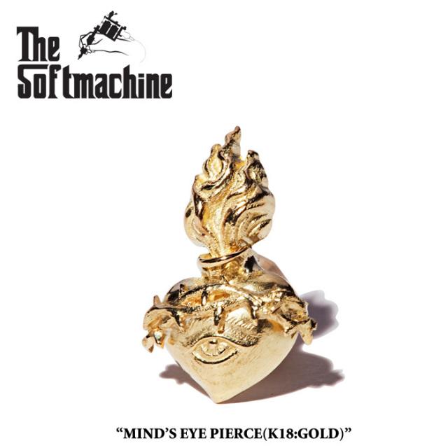 SOFTMACHINE(ソフトマシーン) MIND'S EYE PIERCE(K18) 【先行予約】【送料無料】 【SOFTMACHINE(ソフトマシーン) ピアス】