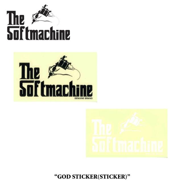 SOFTMACHINE(ソフトマシーン) GOD STICKER(STICKER) 【先行予約】【キャンセル不可】 【SOFTMACHINE(ソフトマシーン) ステッカー