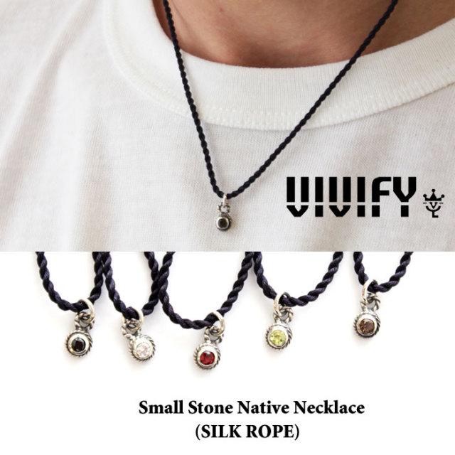 【2015 2nd EXHIBITION 先行予約】 VIVIFY(ヴィヴィファイ) Small Stone Native Necklace 【キャンセル不可】 【職人の完全手作