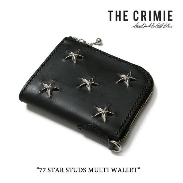 CRIMIE(クライミー) 77 STAR STUDS MULTI WALLET 【2016A/W先行予約】 【送料無料】【キャンセル不可】 【CRIMIE ウォレット】【