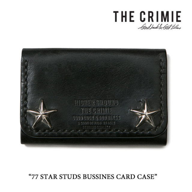 CRIMIE(クライミー) 77 STAR STUDS BUSSINES CARD CASE 【2016AUTUMN/WINTER】 【送料無料】【即発送可能】 【CRIMIE カードケー