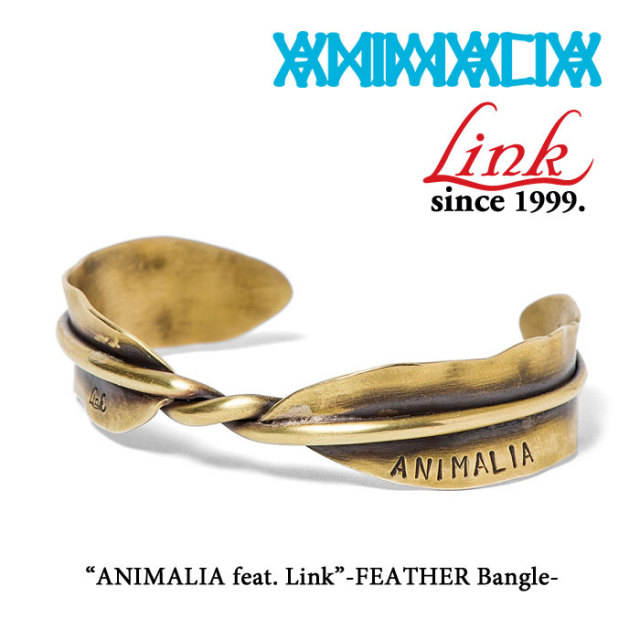 ANIMALIA(アニマリア) ANIMALIA feat.Link-FEATHER Bangle 【先行予約】 【キャンセル不可】 【THE CHERRY COKE$】 【ANIMAL-AC