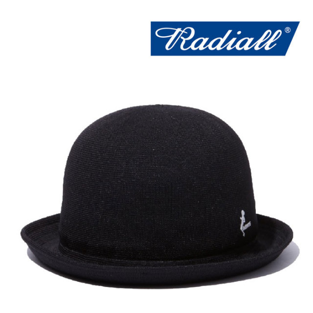 RADIALL(ラディアル) DUBWISE BOWLER HAT 【2018 SPRING&SUMMER新作】 【RADIALL ハット】 【RAD-18SS-HAT009】