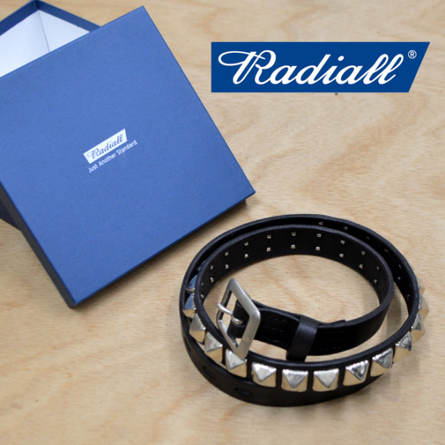 RADIALL(ラディアル) MONTE CARLO-STUDDED NARROW BELT 【2018 AUTUMN & WINTER COLLECTION】 【RAD-18AW-ACC009】