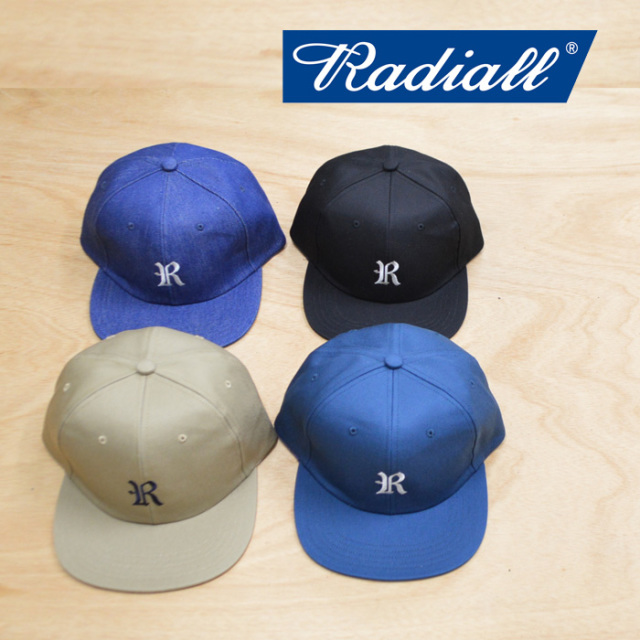 RADIALL(ラディアル) CVS BASEBALL CAP 【2018 AUTUMN & WINTER COLLECTION】 【RAD-18AW-HAT010】