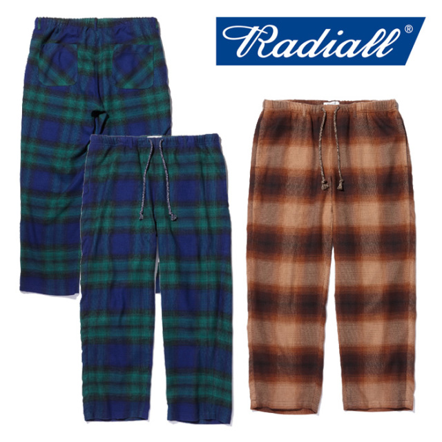【SALE30%OFF】 RADIALL(ラディアル) MOON STOMP -WIDE FIT EASY PANTS 【2018 AUTUMN & WINTER COLLECTION】 【RAD-18AW-PT002