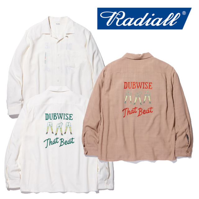 RADIALL(ラディアル) SPACE ECHO-OPEN COLLARED SHIRT L/S 【2018 AUTUMN & WINTER COLLECTION】 【RAD-18AW-SH005】