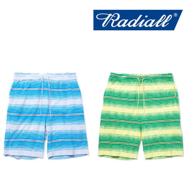 【SALE】 RADIALL(ラディアル) CACTUS - SWEAT SHORTS 【2018 SPRING&SUMMER新作】 【RADIALL ショーツ】 【RAD-18SS-CUT002】