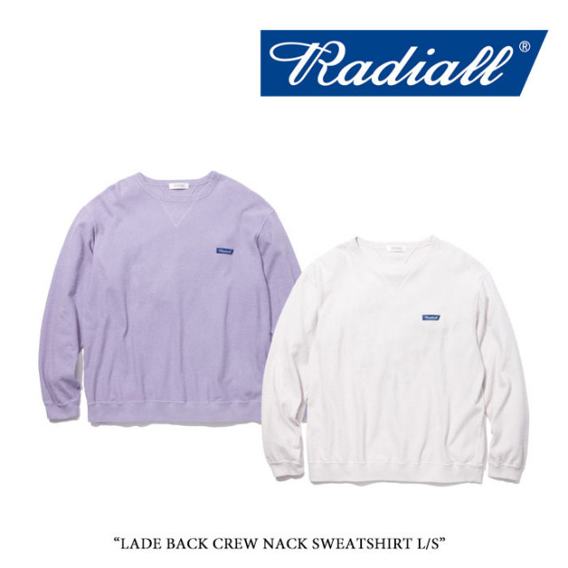 【SALE】 RADIALL(ラディアル) LADE BACK CREW NECK SWEATSHIRT L/S 【2018 SPRING&SUMMER新作】【RAD-18SS-CUT013】