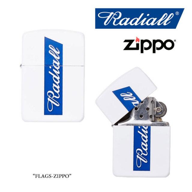 RADIALL(ラディアル) FLAGS ZIPPO 【2018 SPRING&SUMMER新作】 【送料無料】【即発送可能】 【RADIALL オイルライター】 【RAD-