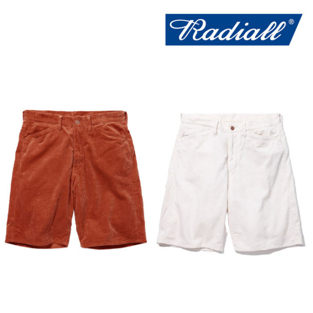 【SALE】 RADIALL(ラディアル) TUBE GRILL - FRISCO SHORTS 【2018 SPRING&SUMMER新作】 【RADIALL ショーツ】 【RAD-18SS-PT00
