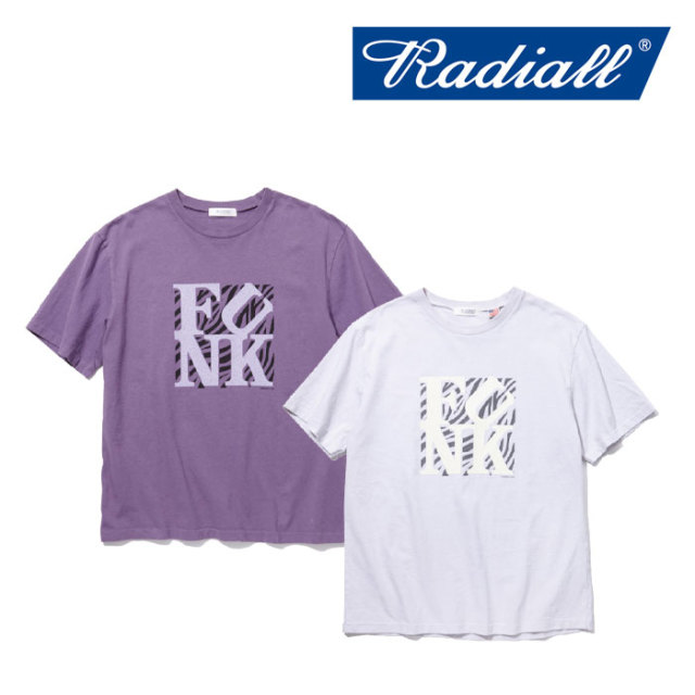 【SALE】 RADIALL(ラディアル) KNAP TOWN - CREW NECK T-SHIRT 【2018 SPRING&SUMMER新作】【RAD-18SS-TE010】