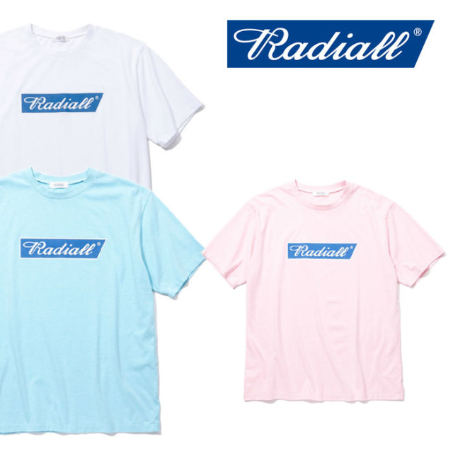 【SALE】 RADIALL(ラディアル) FLAGS - CREW NECK T-SHIRT 【2018 SPRING&SUMMER新作】 【RADIALL Tシャツ】 【RAD-18SS-TE024