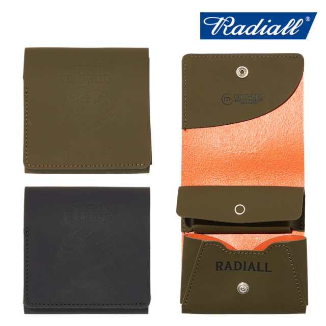 RADIALL(ラディアル) PACHUCO - FOLDED WALLET 【ウォレット】【2020 2020 AUTUMN&WINTER COLLECTION】【RAD-20AW-ACC002】