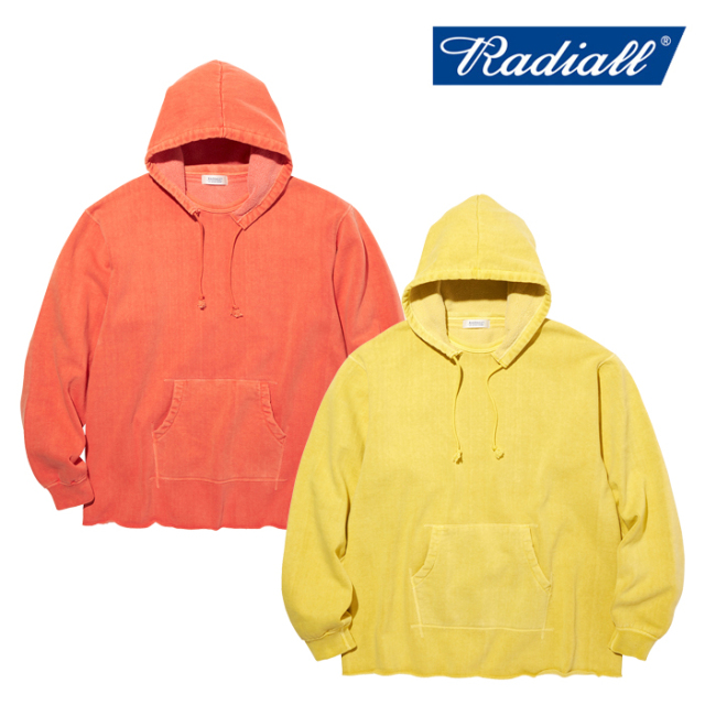 RADIALL(ラディアル) NOVA - HOODIE SWEATSHIRT L/S 【フーディー パーカー】【2020 AUTUMN&WINTER COLLECTION】【RAD-20AW-CUT002