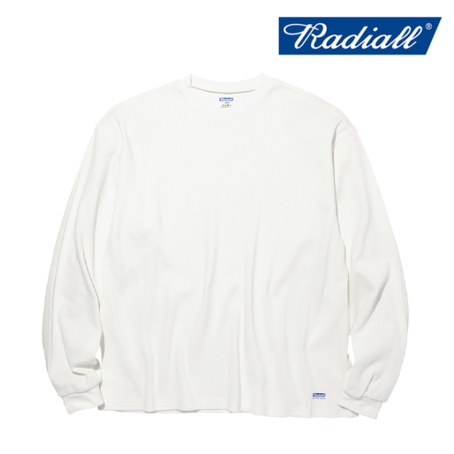 RADIALL(ラディアル) BASIC - THERMAL CREW NECK T-SHIRT L/S 【ロングスリーブTシャツ】【2020 AUTUMN&WINTER COLLECTION】【RAD-