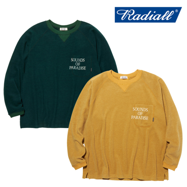 RADIALL(ラディアル) SOP - CREW NECK POCKET T-SHIRT L/S 【ロングスリーブTシャツ】【2020 AUTUMN&WINTER COLLECTION】【RAD-20A