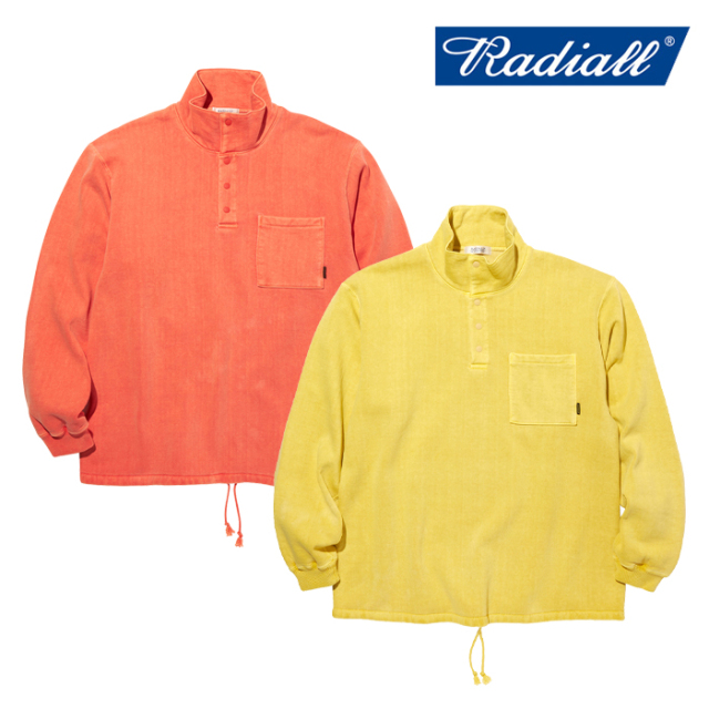 【SALE30%OFF】 RADIALL(ラディアル) NOVA - STAND COLLARED SWEATSHIRT L/S 【スウェット】【2020 AUTUMN&WINTER COLLECTION】【
