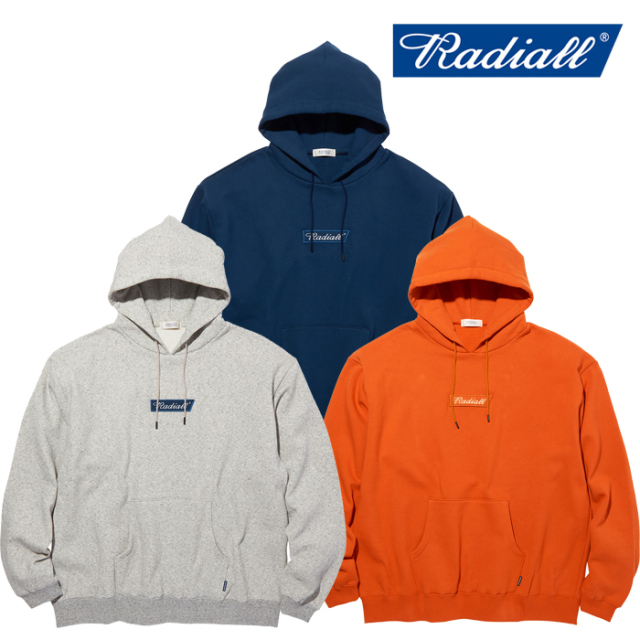 RADIALL(ラディアル) FLAGS - HOODIE SWEATSHIRT L/S 【パーカー】【2020 AUTUMN&WINTER COLLECTION】【RAD-20AW-CUT011】