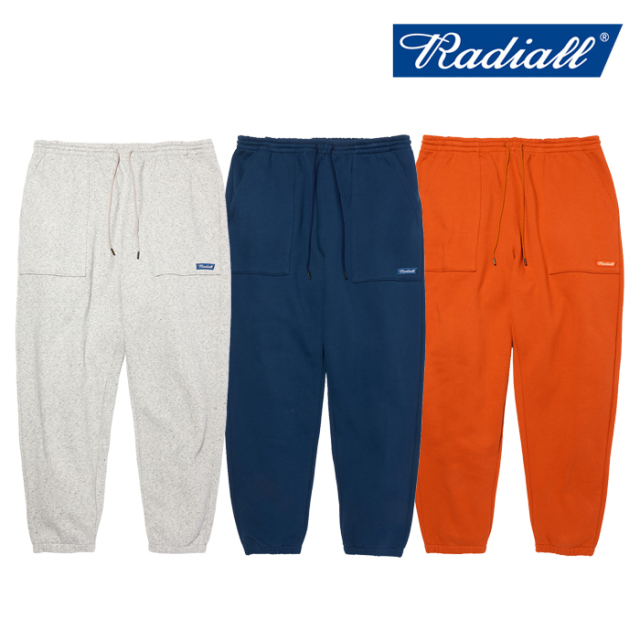 RADIALL(ラディアル) FLAGS - SWEATPANTS 【スウェットパンツ】【2020 AUTUMN&WINTER COLLECTION】【RAD-20AW-CUT012】