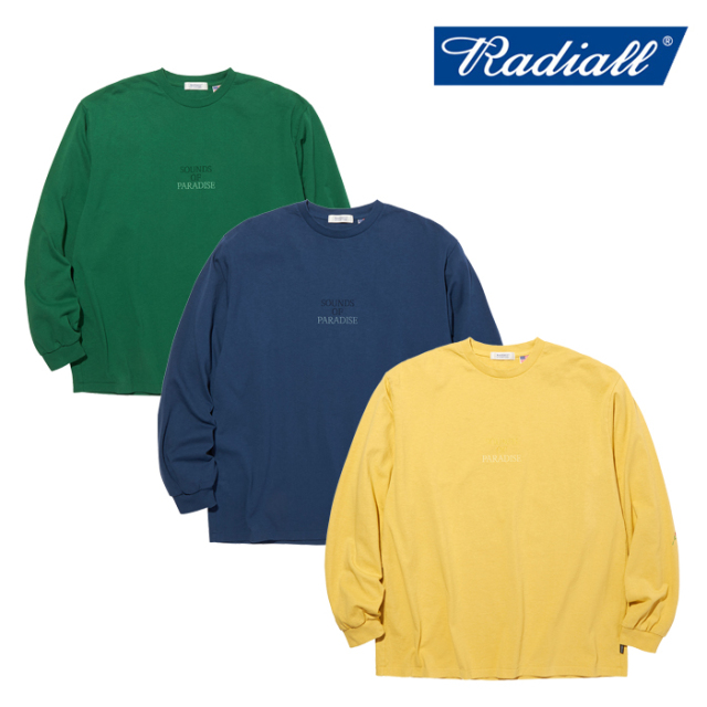 RADIALL(ラディアル) SOP - CREW NECK T-SHIRT L/S 【ロングスリーブTシャツ】【2020 AUTUMN&WINTER COLLECTION】【RAD-20AW-CUT02