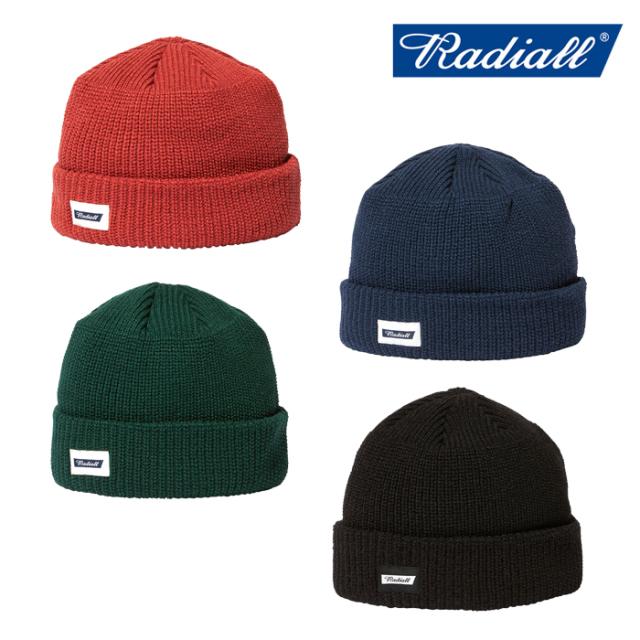 【再入荷】RADIALL(ラディアル) C-10 - WATCH CAP 【ワッチキャップ ニット帽】【2020 AUTUMN&WINTER COLLECTION】【RAD-20AW-HAT0