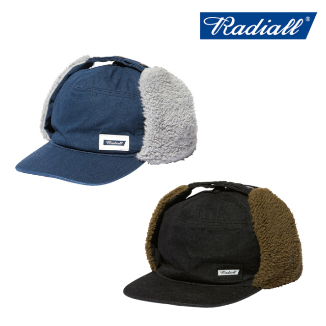 RADIALL(ラディアル) MOON STOMP - FLIGHT CAP 【フライトキャップ】【2020 AUTUMN&WINTER COLLECTION】【RAD-20AW-HAT005】