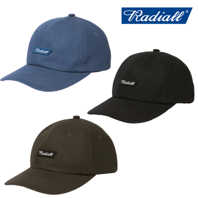 RADIALL(ラディアル) FLAGS - BASEBALL LOW CAP 【ローキャップ】【2020 AUTUMN&WINTER COLLECTION】【RAD-20AW-HAT008】