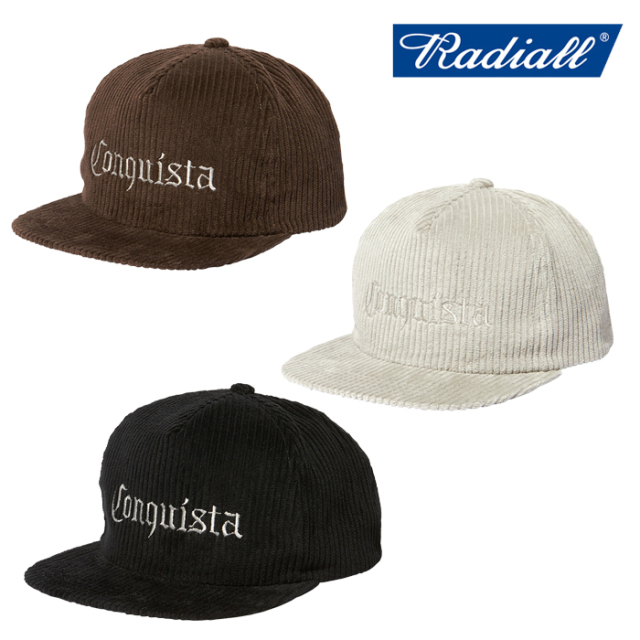 RADIALL(ラディアル) TARIKA - TRUCKER CAP 【トラッカーキャップ】【2020 AUTUMN&WINTER COLLECTION】【RAD-20AW-HAT012】
