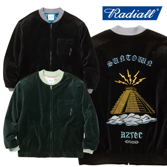 RADIALL(ラディアル) AZTEC MOVIN' - SOUVENIR JACKET 【スーベニアジャケット】【2020 AUTUMN&WINTER COLLECTION】【RAD-20AW-JK0