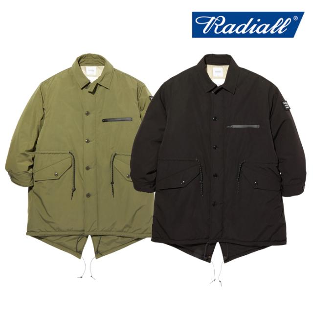 RADIALL(ラディアル) SUBURBAN - FISHTAIL COAT 【ミリタリーコート】【2020 AUTUMN&WINTER COLLECTION】【RAD-20AW-JK004】