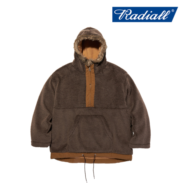 RADIALL(ラディアル) WHARF RAT - PULLOVER PARKA JACKET 【ボアジャケット】【2020 AUTUMN&WINTER COLLECTION】【RAD-20AW-JK011
