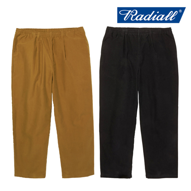 RADIALL(ラディアル) MUSCLE SHOALS - STRAIGHT FIT EASY PANTS 【イージーパンツ】【2020 AUTUMN&WINTER COLLECTION】【RAD-20AW-