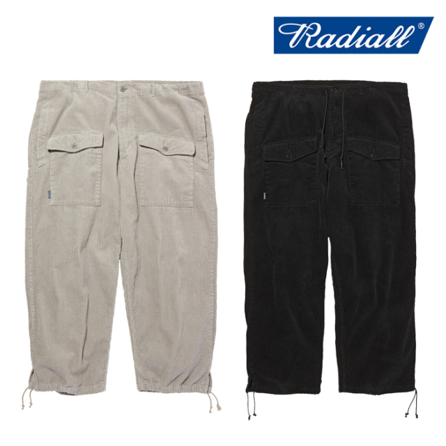 RADIALL(ラディアル) TARIKA - WIDE FIT CARGO PANTS 【カーゴパンツ】【2020 AUTUMN&WINTER COLLECTION】【RAD-20AW-PT002】