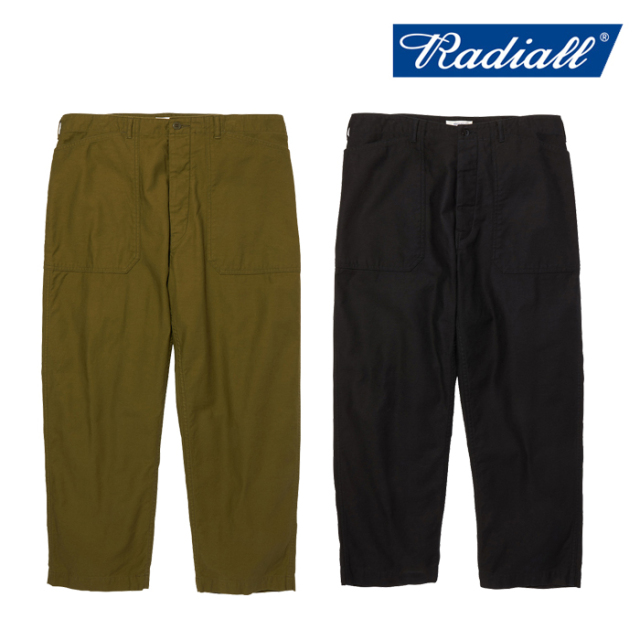 RADIALL(ラディアル) OAK TOWN - WIDE FIT WORK PANTS 【ワークパンツ】【2020 AUTUMN&WINTER COLLECTION】【RAD-20AW-PT003】