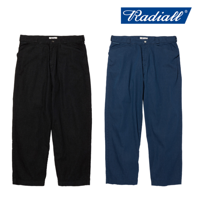 RADIALL(ラディアル) MOON STOMP - WIDE FIT WORK PANTS 【ワークパンツ】【2020 AUTUMN&WINTER COLLECTION】【RAD-20AW-PT006】
