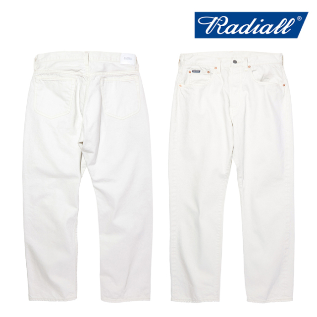 RADIALL(ラディアル) TWO TONE 350B - STRAIGHT FIT PANTS 【デニムパンツ】【2020 AUTUMN&WINTER COLLECTION】【RAD-20AW-PT009】