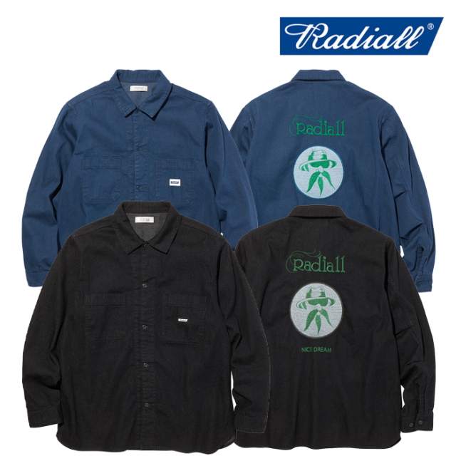 RADIALL(ラディアル) FREE- REGULAR COLLARED SHIRTS L/S 【ワークシャツ】【2020 AUTUMN&WINTER COLLECTION】【RAD-20AW-SH001】