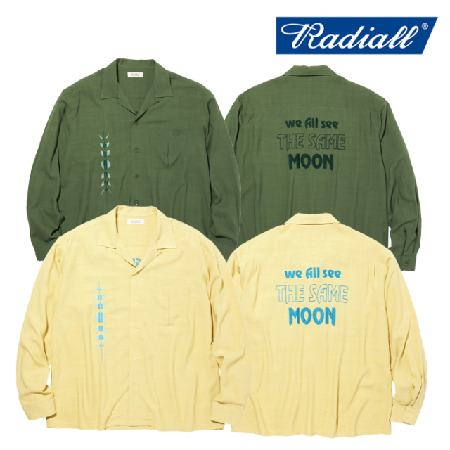 【SALE30%OFF】 RADIALL(ラディアル) HARVEST - OPEN COLLARED SHIRT L/S 【オープンカラーシャツ】【セール】【返品・交換不可】