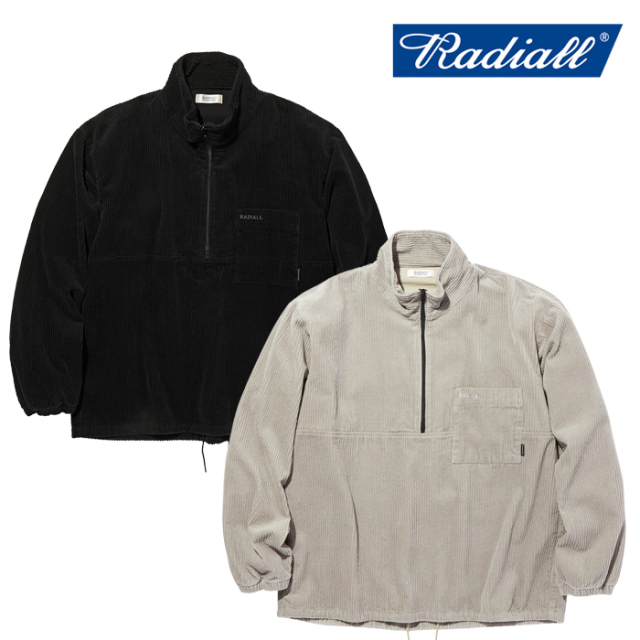 RADIALL(ラディアル) TARIKA - PULLOVER STAND COLLARED SHIRT L/S 【プルオーバーシャツ】【2020 AUTUMN&WINTER COLLECTION】【RA