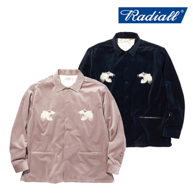 RADIALL(ラディアル) SWEET EXORCIST - OPEN COLLARED SHIRT L/S 【オープンカラーシャツ 長袖】【2020 AUTUMN&WINTER COLLECTION